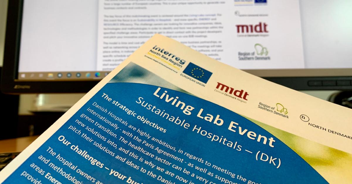 Virksomheder giver idéer til grønnere hospitaler